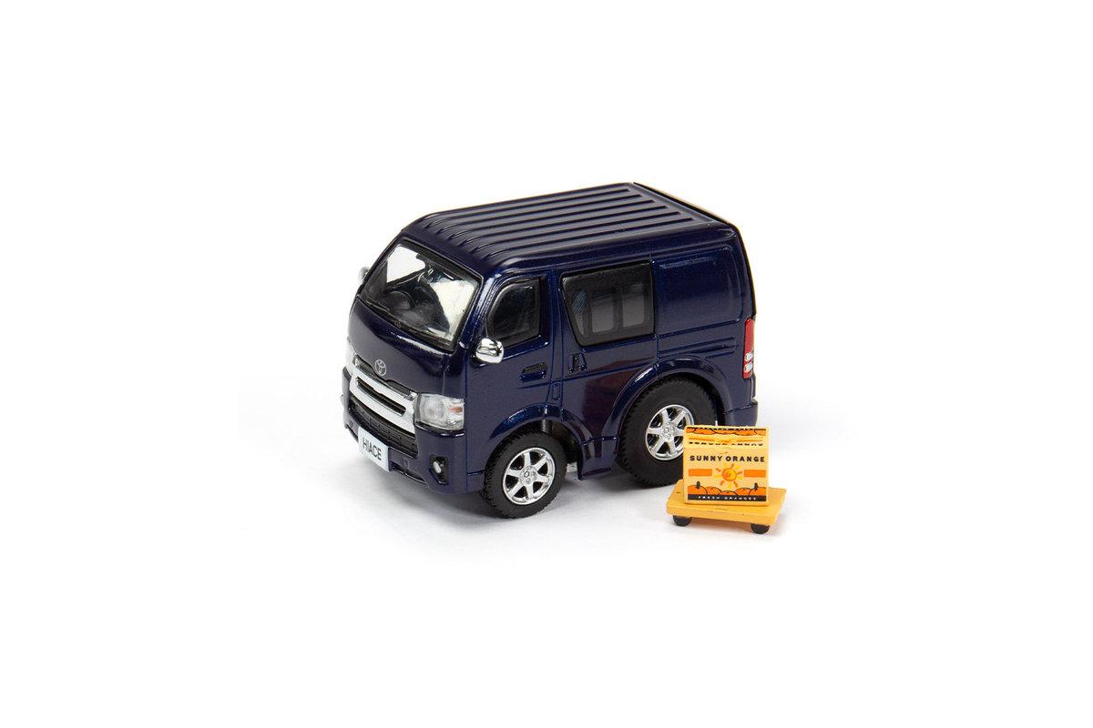 TinyQ - Toyota Hiace - Metallic Blue