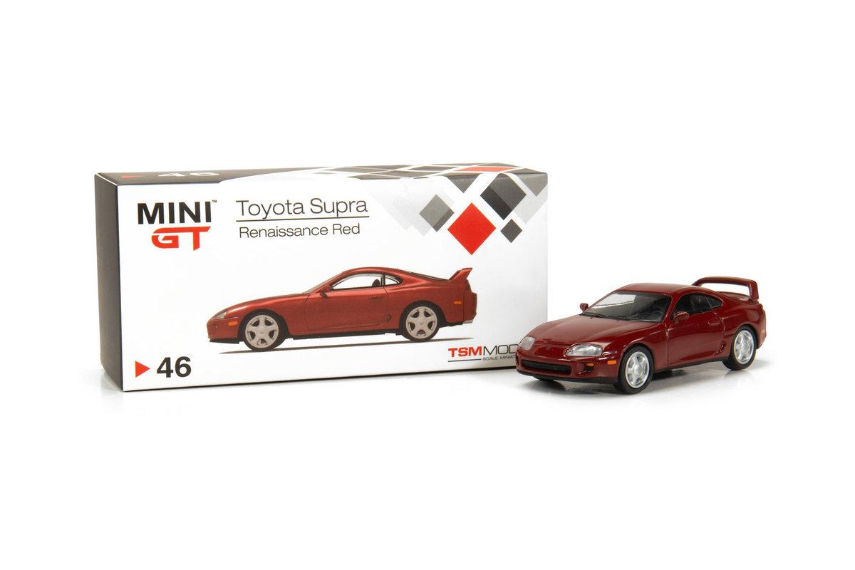 TINY MINI GT 1/64 AMGT00046-R Toyota Sup