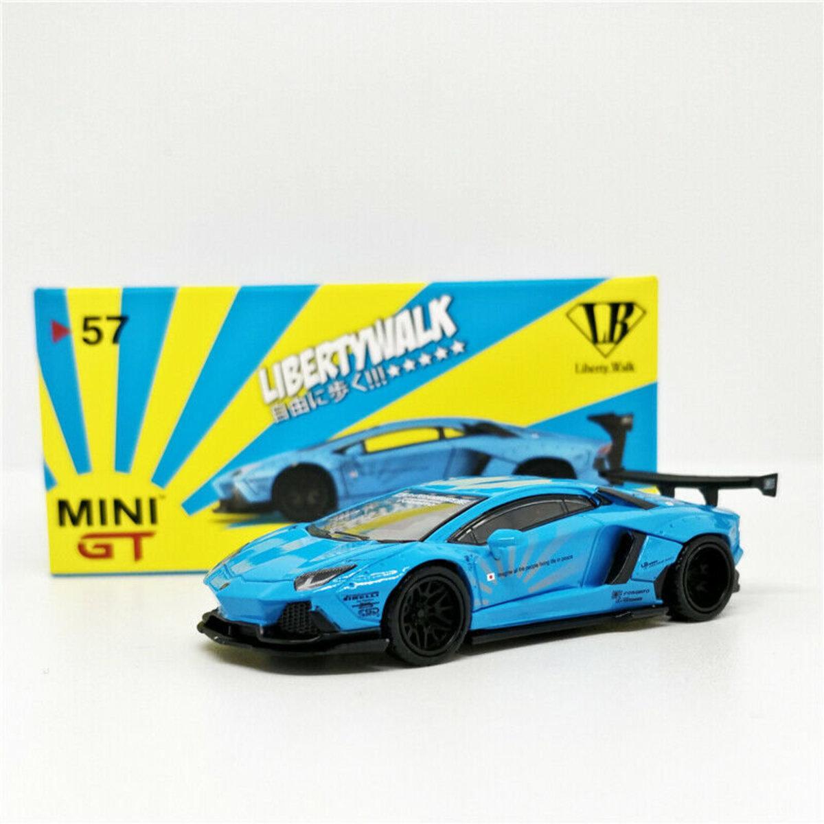 TINY MINI GT 1/64 AMGT00057-R LB WORKS L