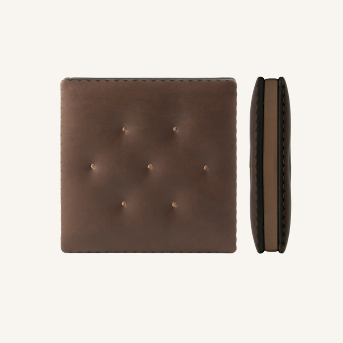 Cookie Bookie Lined Notebook - Chocolate Cracker