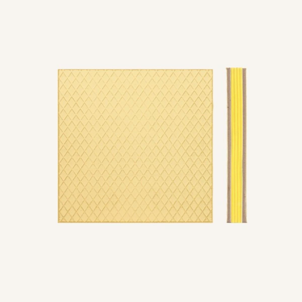 Cookie Bookie Lined Notebook - Lemon Waffle