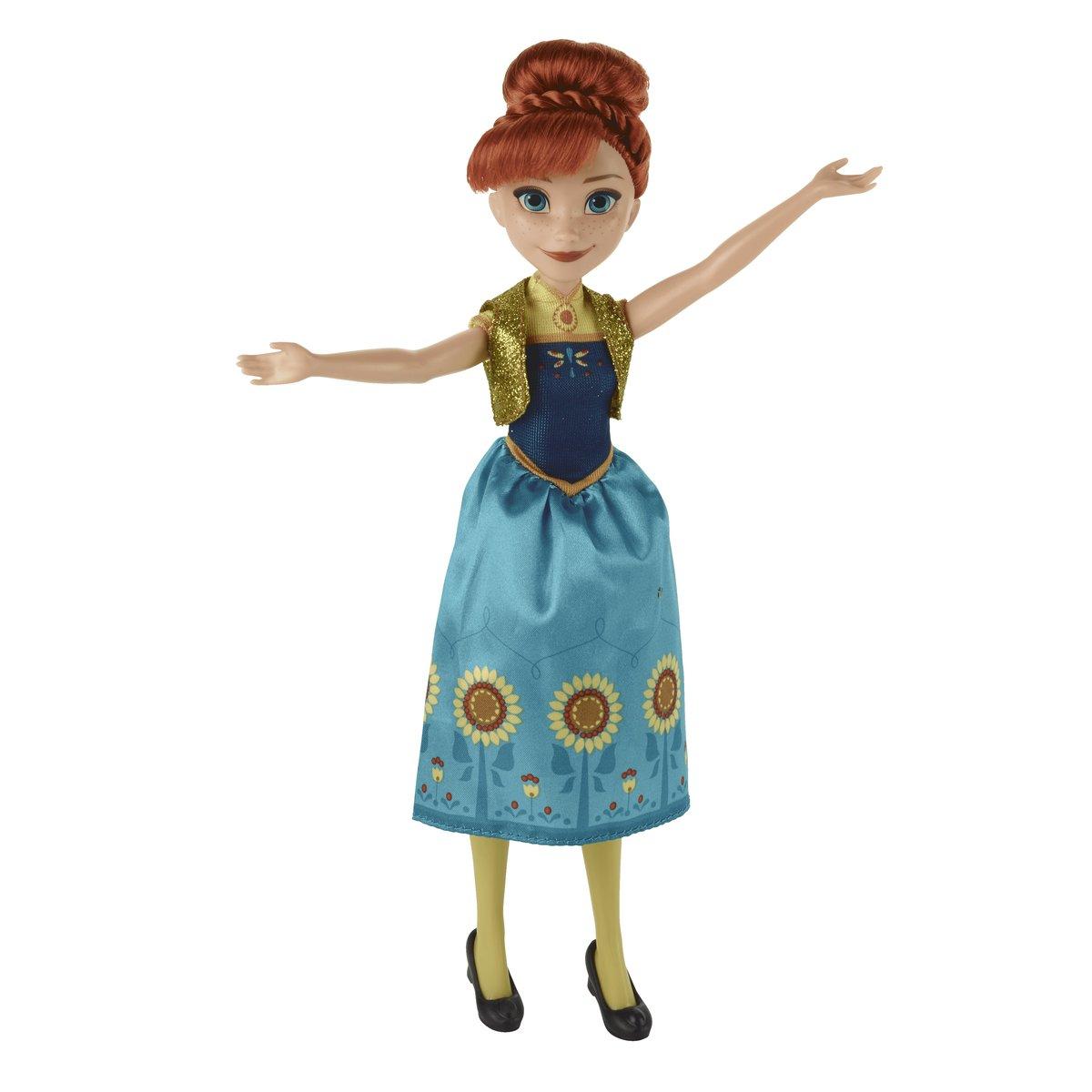 迪士尼《魔雪奇緣》Anna公主 經典時裝玩偶