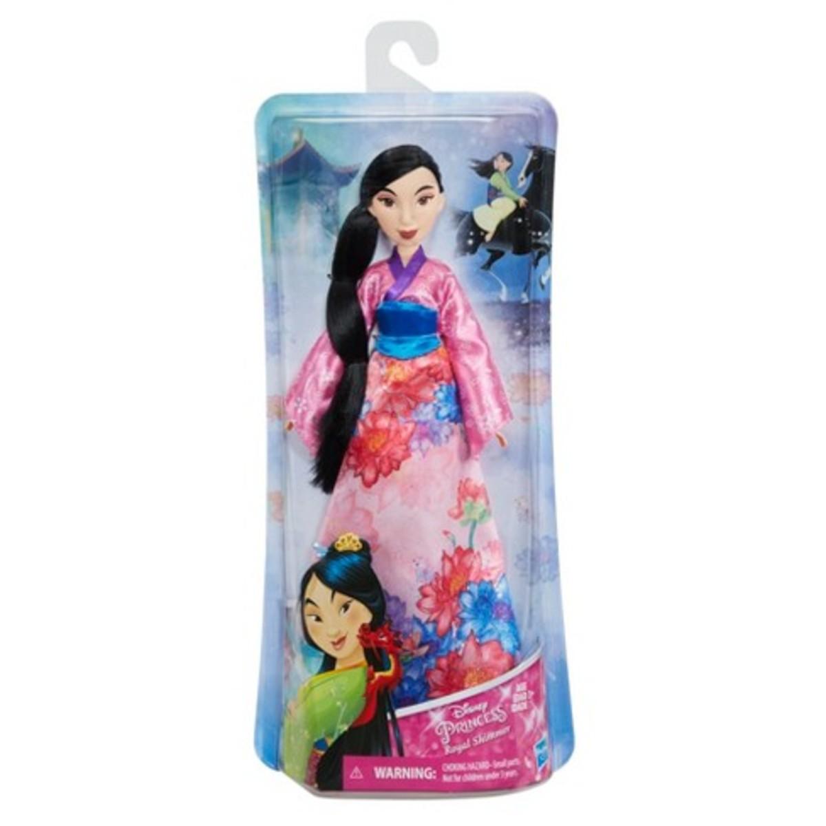 Disney Princess Mulan Royal Shimmer Fashion Doll