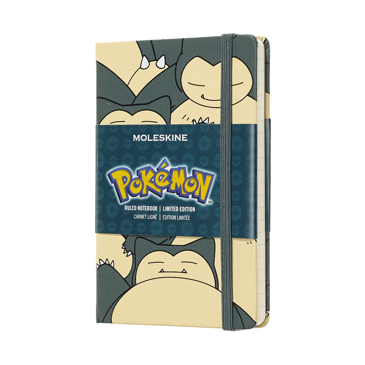 Pokémon Limited Edition Notebook -Snorlax, Pocket, Ruled, Hard Cover