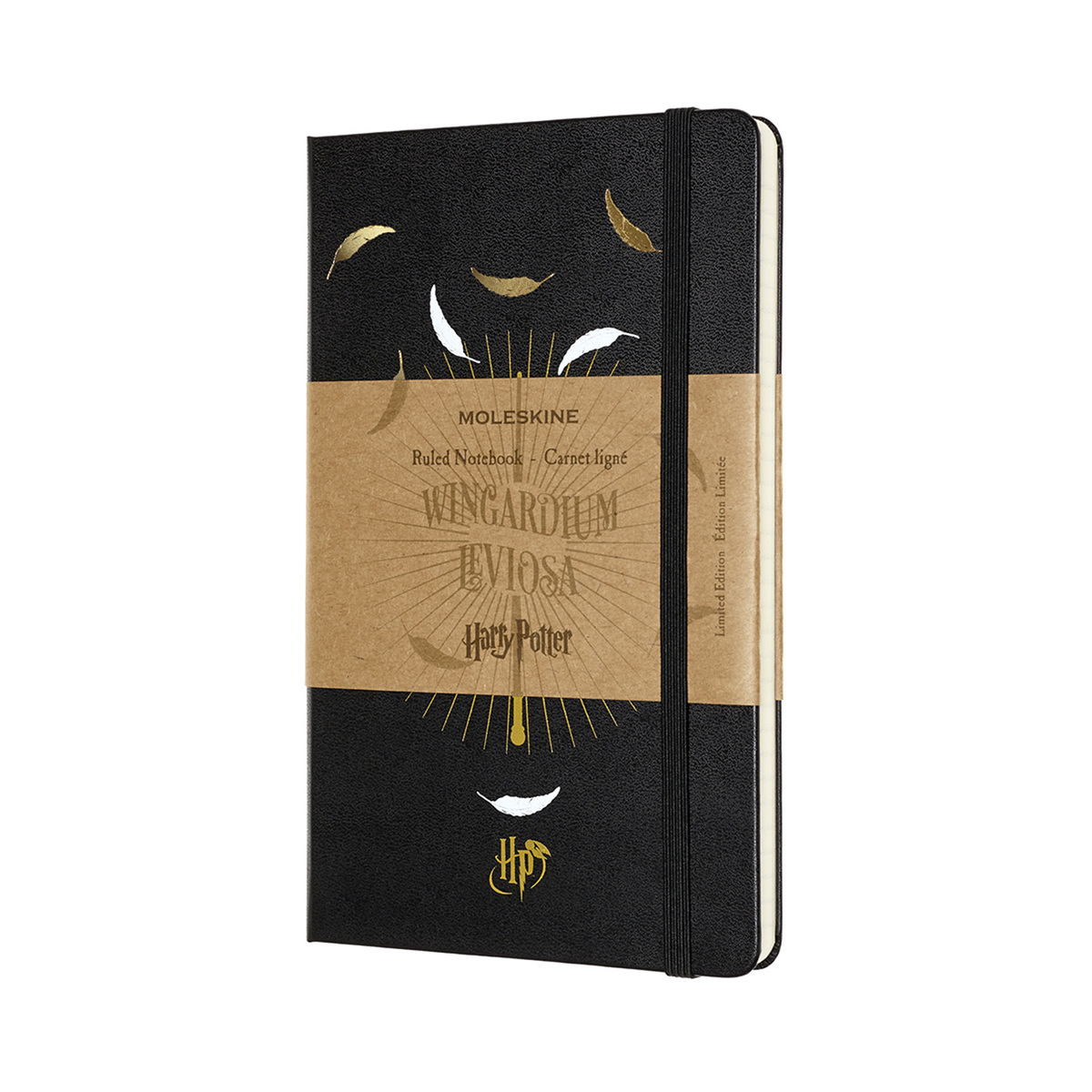 《哈利·波特》限量版Wingardium Levisosa 筆記本 - L 型橫線本