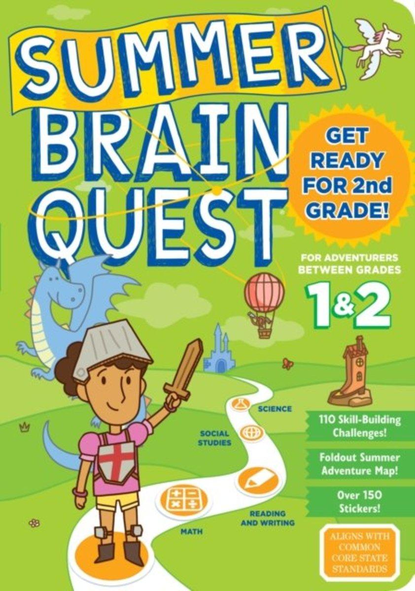 Summer Brain Quest: Between Grades 1&2 暑假大腦任務:一年級升二年級