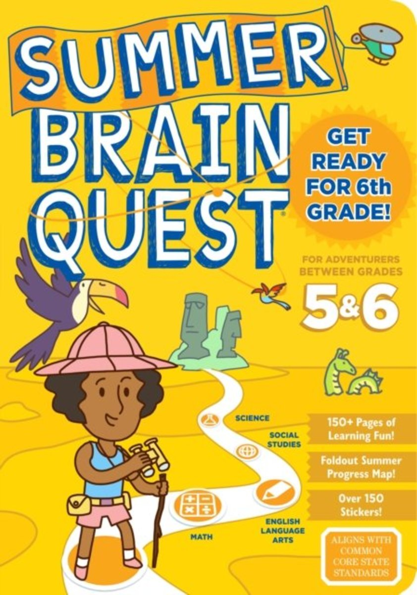 Summer Brain Quest: Between Grades 5&6
