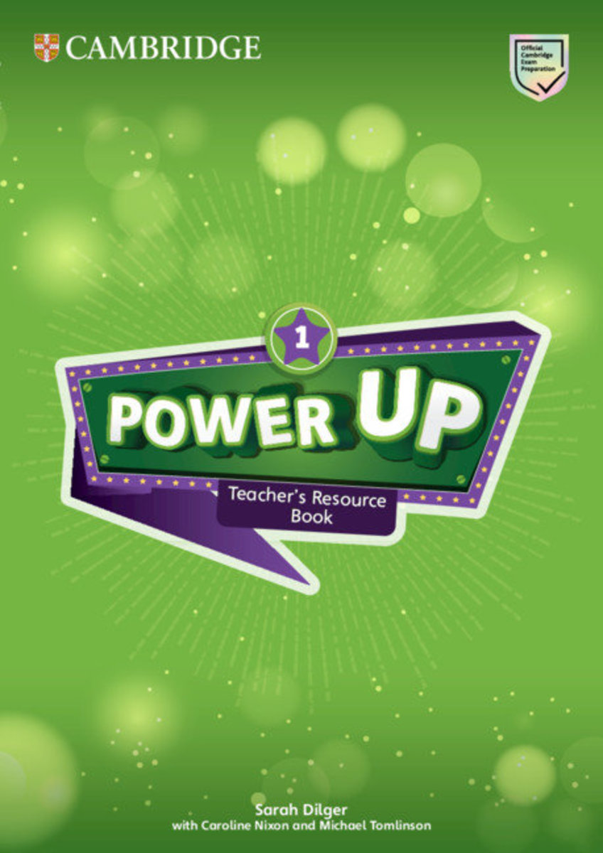 Power Up Teacher's Resource Book with Online Audio [ Level 1 ]