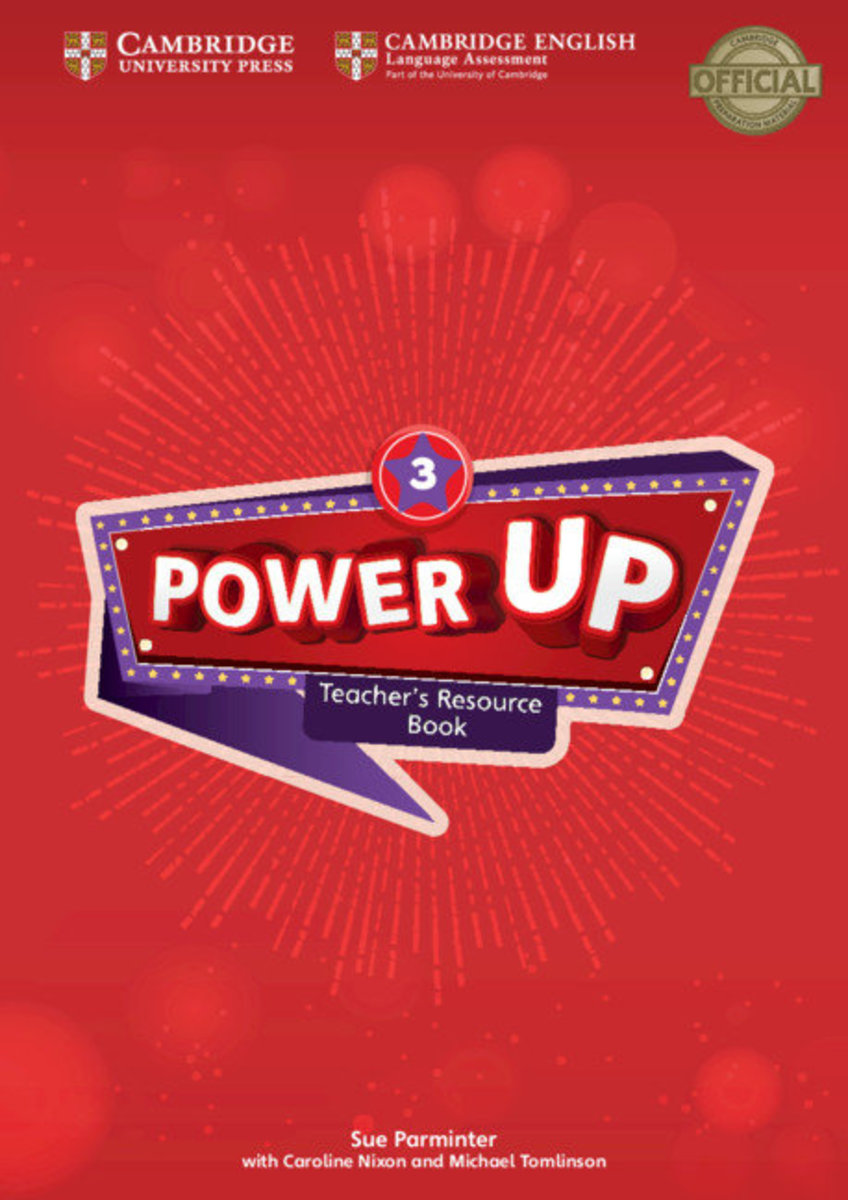Power Up Teacher's Resource Book with Online Audio [ Level 3 ]