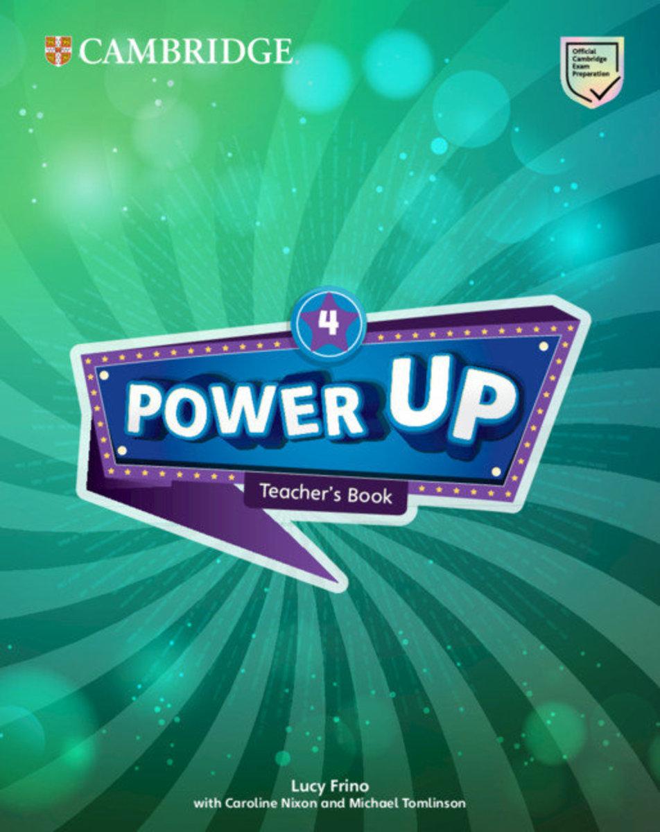 Power Up Teacher's Book [ Level 4 ]