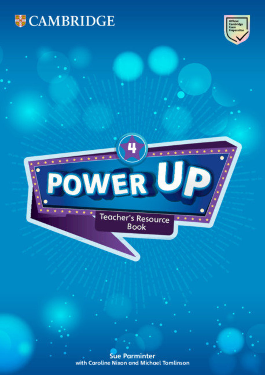 Power Up Teacher's Resource Book with Online Audio [ Level 4 ]