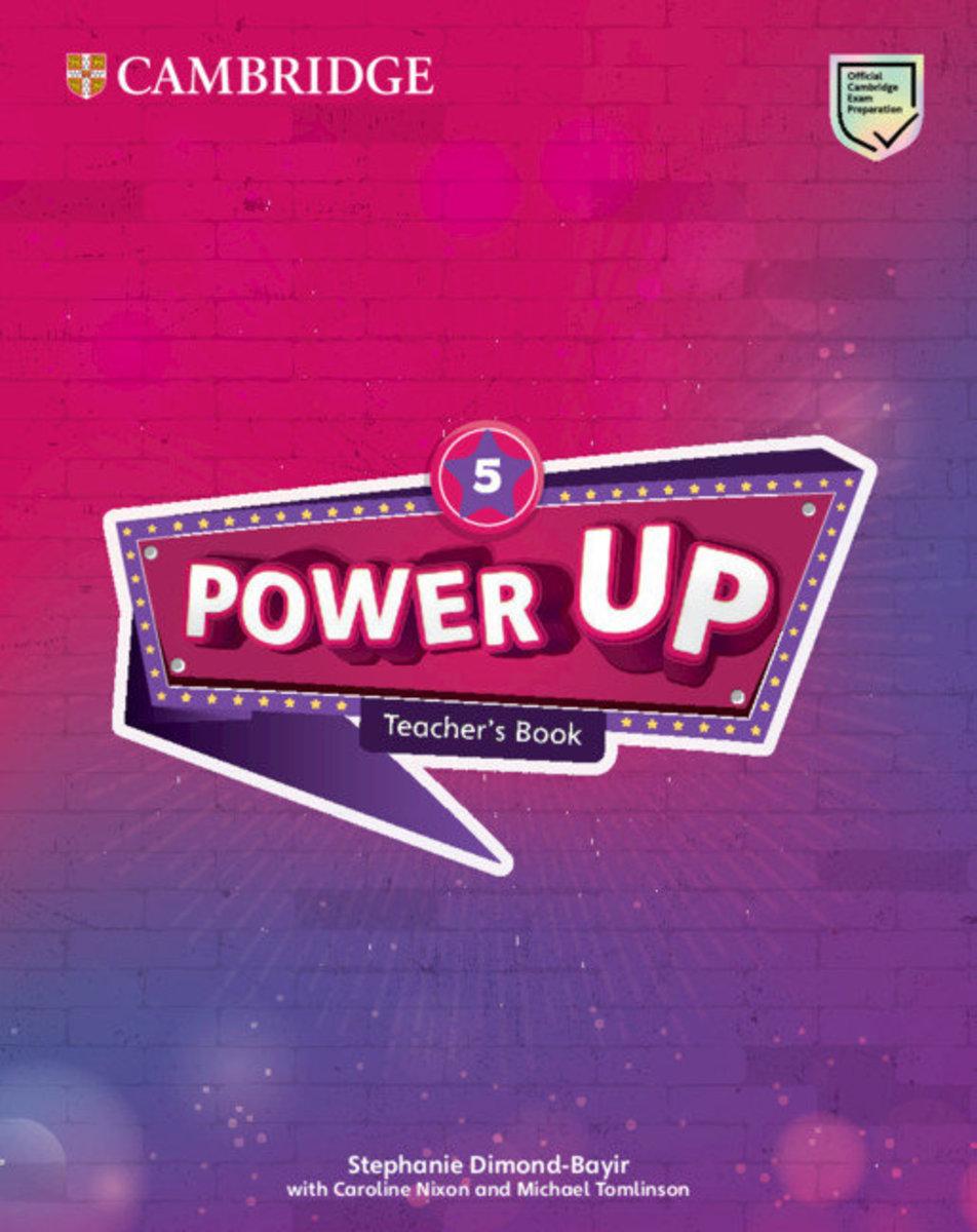 Power Up Teacher's Book [ Level 5 ]