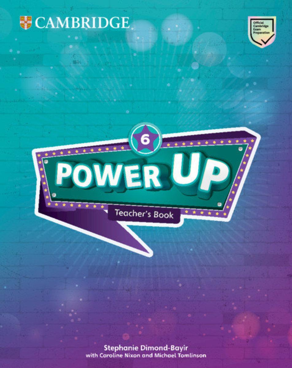 Power Up Teacher's Book [ Level 6 ]