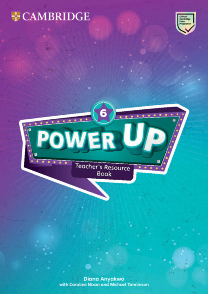 Power Up Teacher's Resource Book with Online Audio [ Level 6 ]