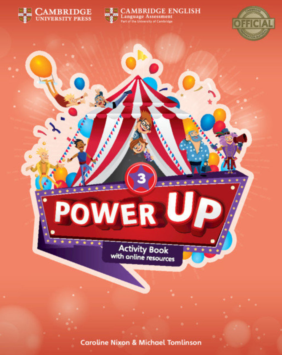Power Up Activity Book with Online Resources and Home Booklet [ Level 3 ]