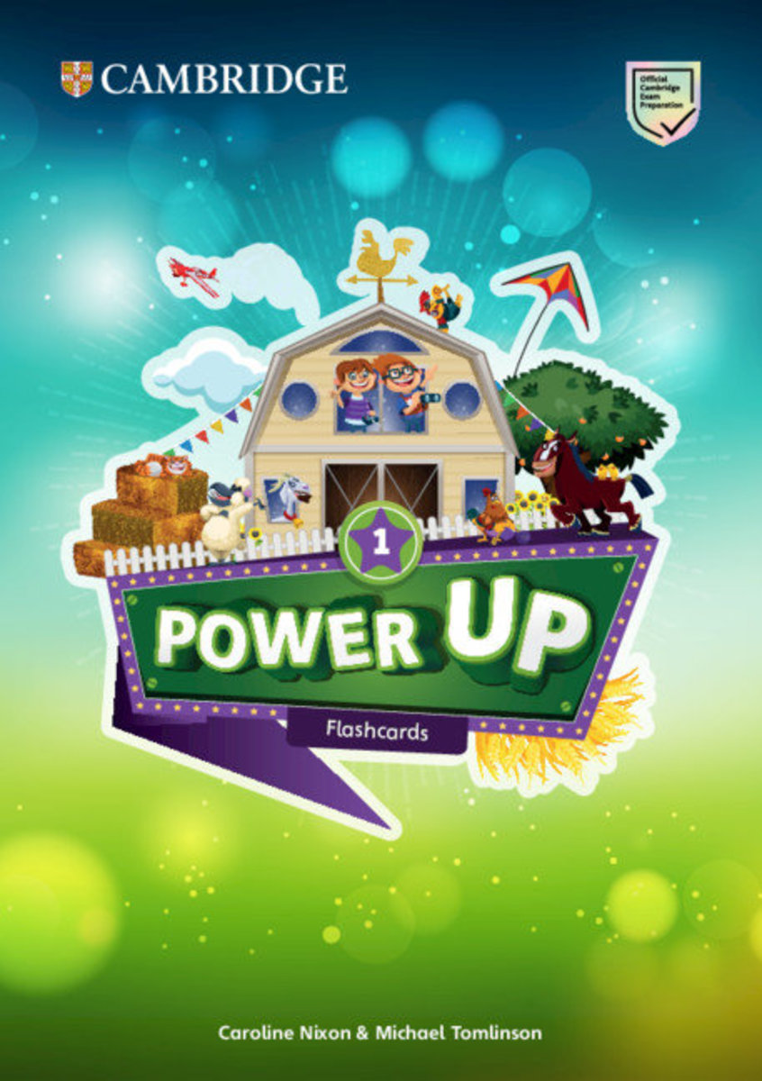 Power Up Flashcards (pack of 179) [ Level 1 ]