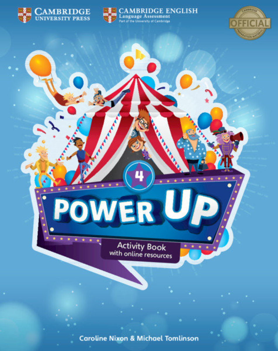 Power Up Activity Book with Online Resources and Home Booklet [ Level 4 ]