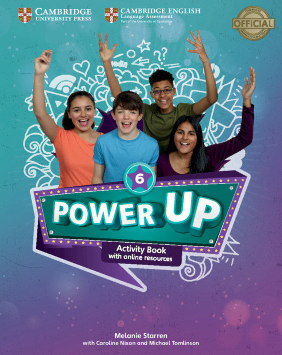 Power Up Activity Book with Online Resources and Home Booklet [ Level 6 ]