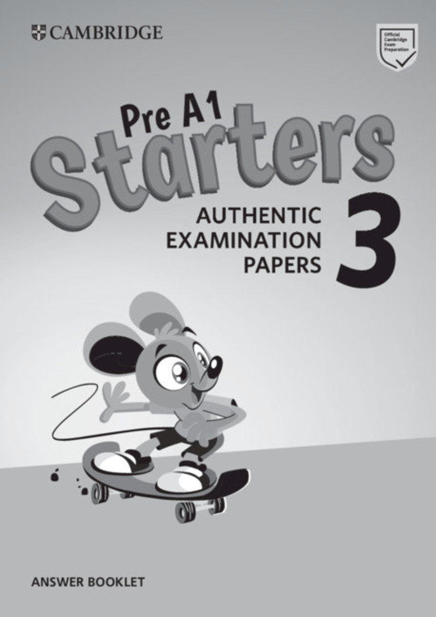 Starters 3 Answer Booklet for Revised Exam from 2018