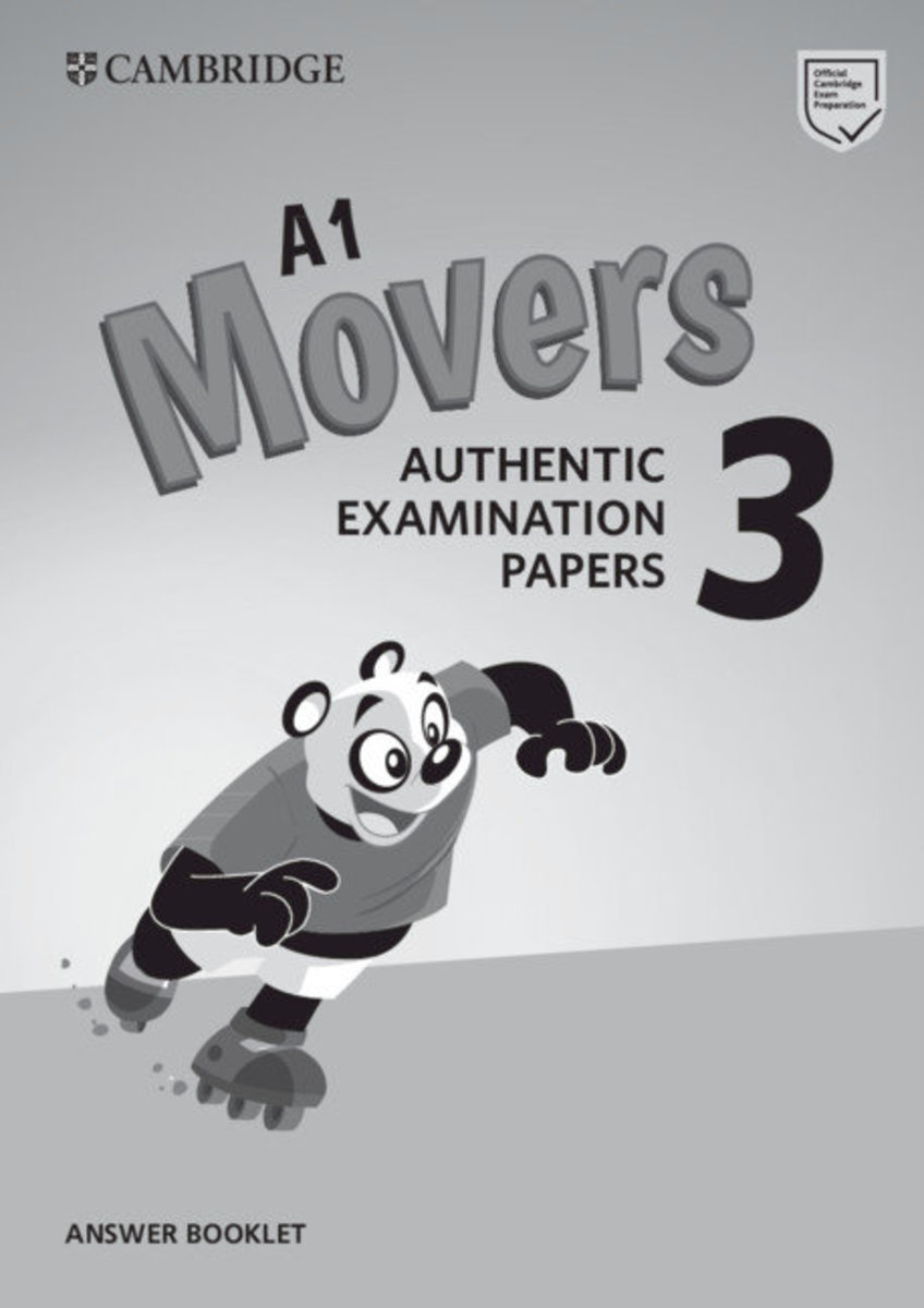 Movers 3 Answer Booklet for Revised Exam from 2018