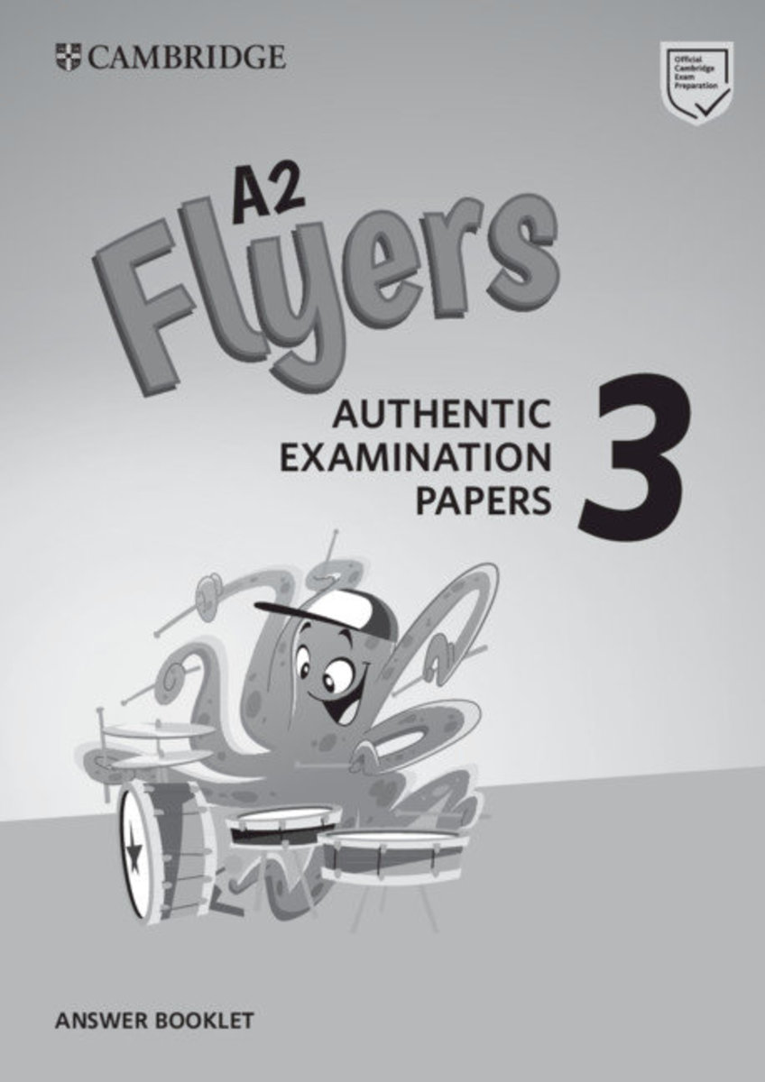 Flyers 3 Answer Booklet for Revised Exam from 2018