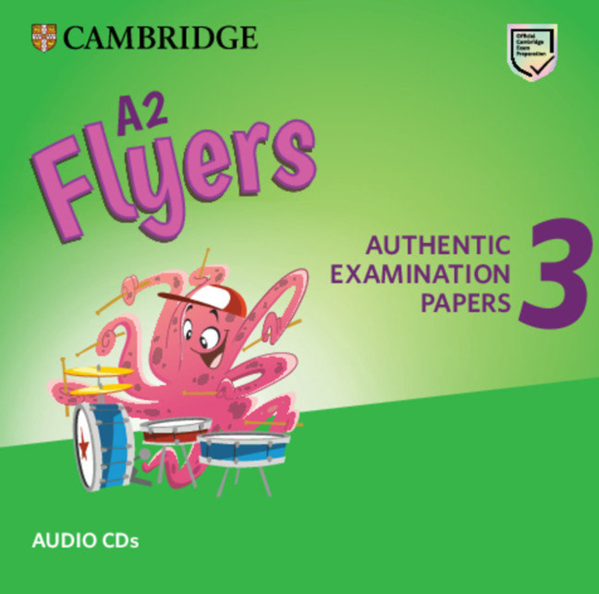 Flyers 3 Audio CD for Revised Exam from 2018
