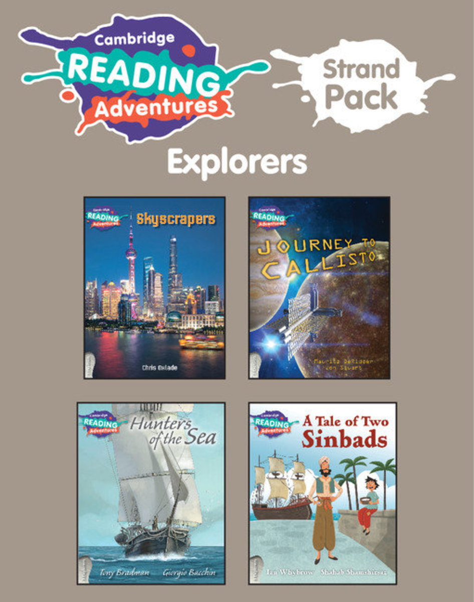 Cambridge Reading Adventures Explorers Strand Pack (6)