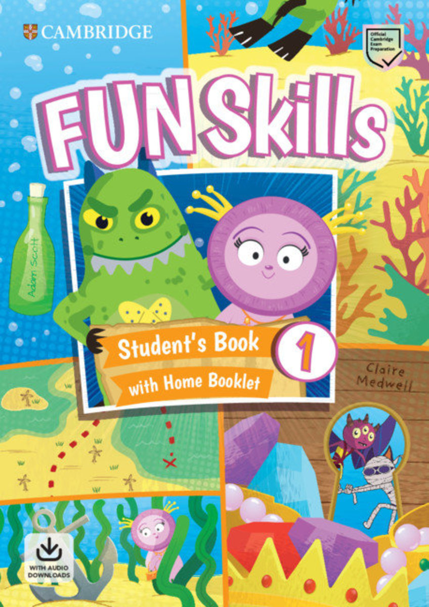Fun Skills Student's Pack with Home Skills Booklet [ Level 1 ]