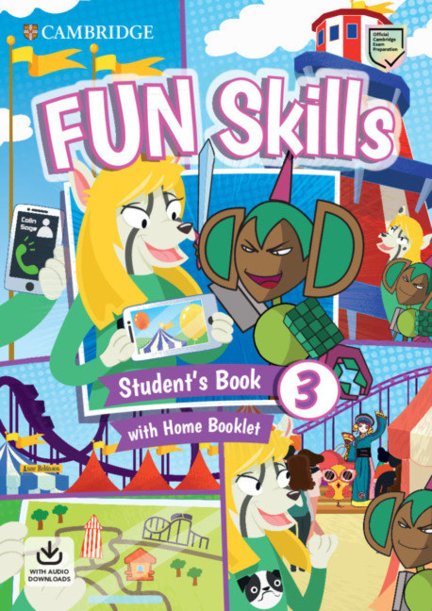 Fun Skills Student's Pack with Home Skills Booklet [ Level 3 ]