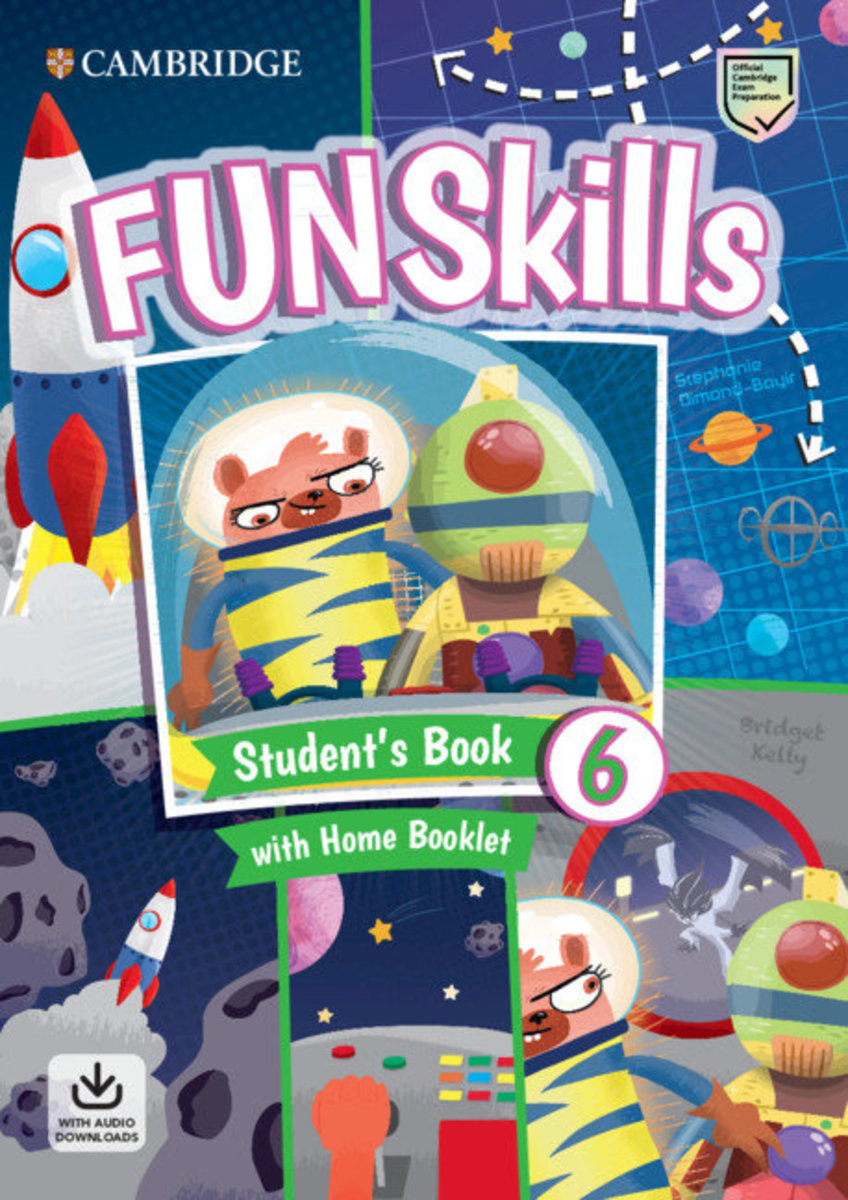 Fun Skills Student's Pack with Home Skills Booklet [ Level 6 ]