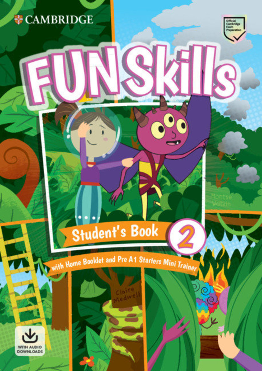 Fun Skills Student's Pack (L2) with Mini Trainer Pack [ Starters ]