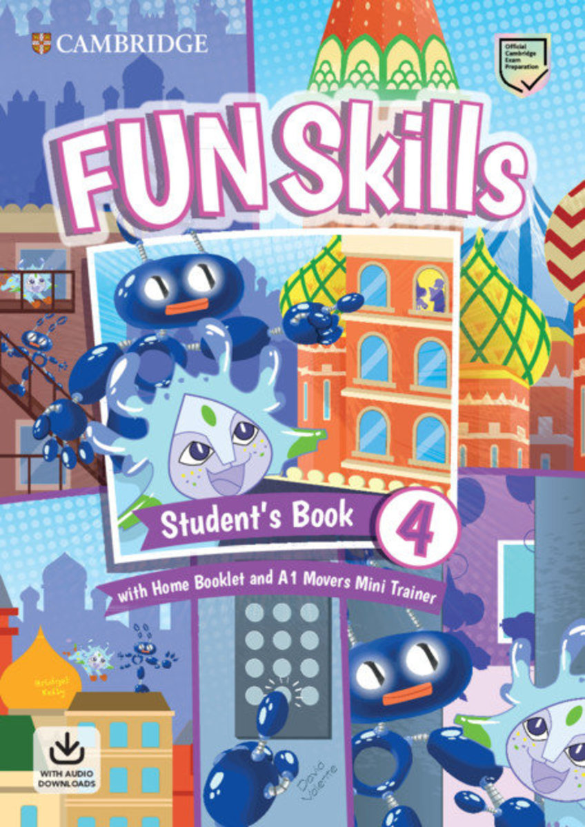 Fun Skills Student's Pack (L4) with Mini Trainer Pack [ Movers ]