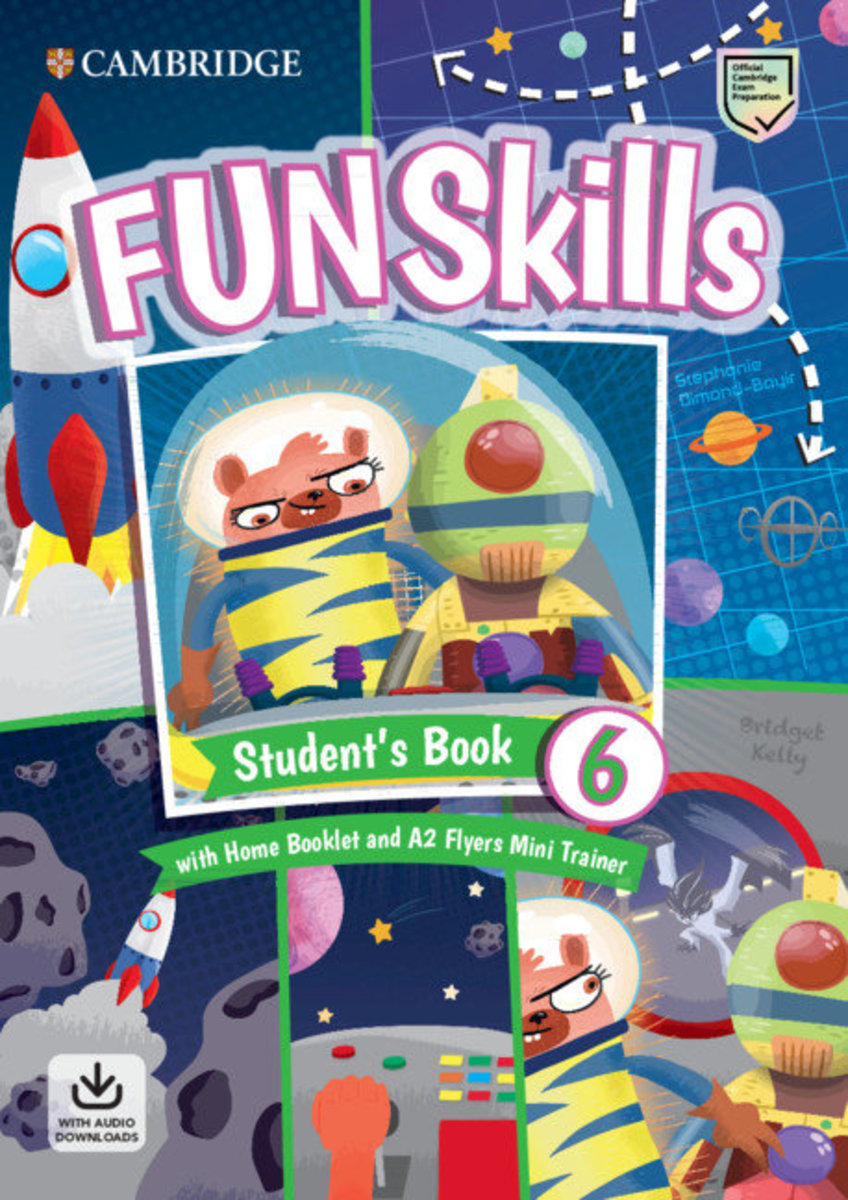 Fun Skills Student's Pack (L6) with Mini Trainer Pack [ Flyers ]