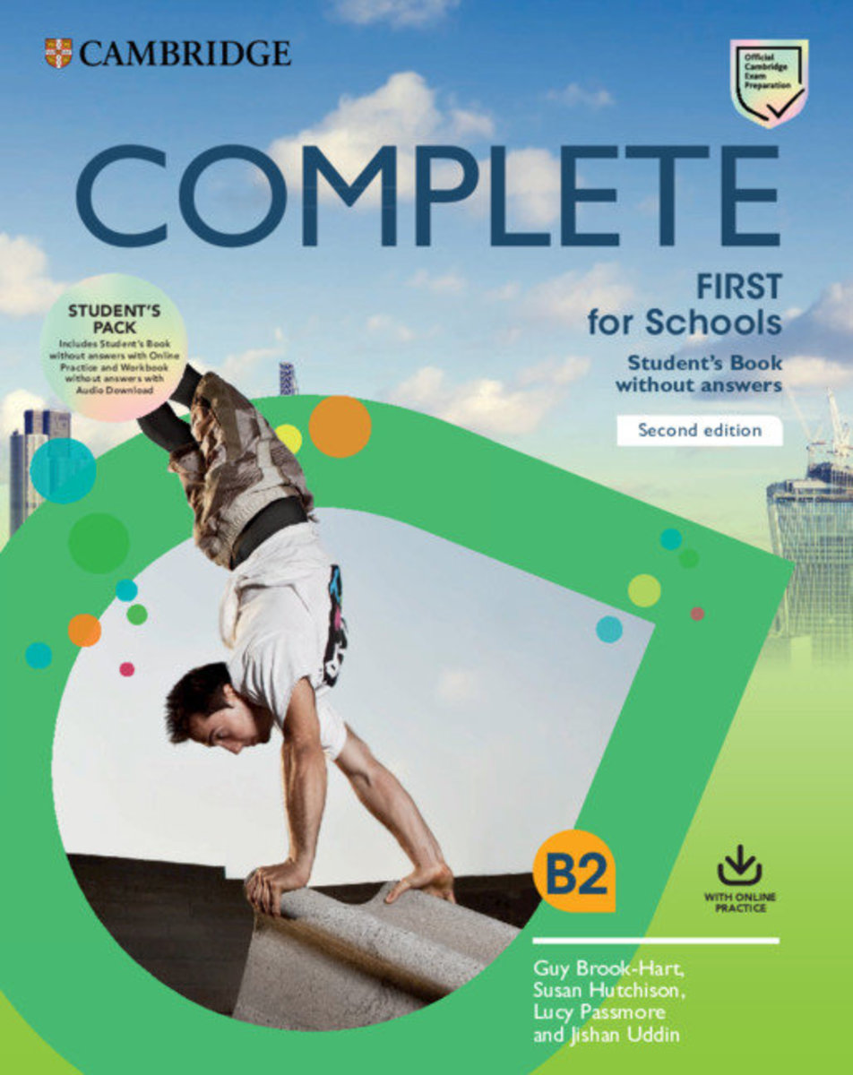 Complete First for Schools Second edition Student's Book Pack (SB wo answers w Online Practice and WB wo answers w Audio Download)