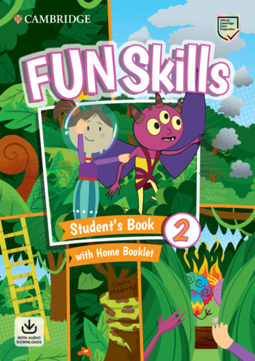 Fun Skills Student's Pack with Home Skills Booklet [ Level 2 ]