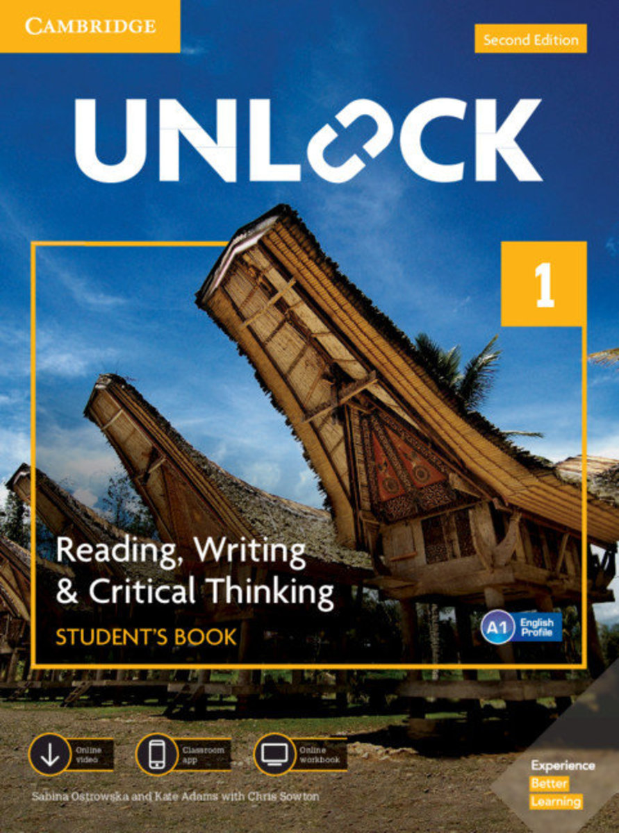 Unlock Second edition Reading, Writing and Critical Thinking Student's Book, Mob App&Online Workbookw/Downloadable Video [ Level 1 ]
