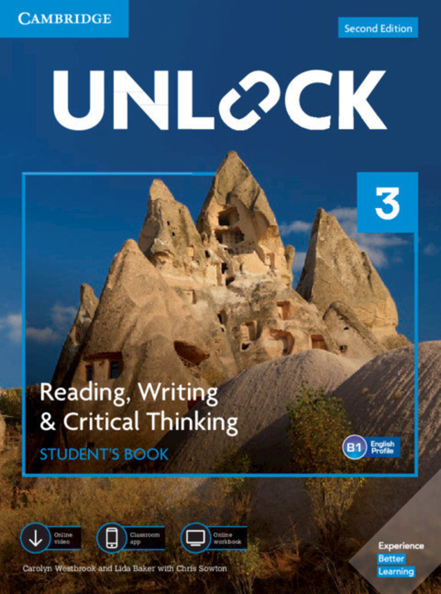Unlock Second edition Reading, Writing and Critical Thinking Student's Book, Mob App&Online Workbookw/Downloadable Video [ Level 3 ]