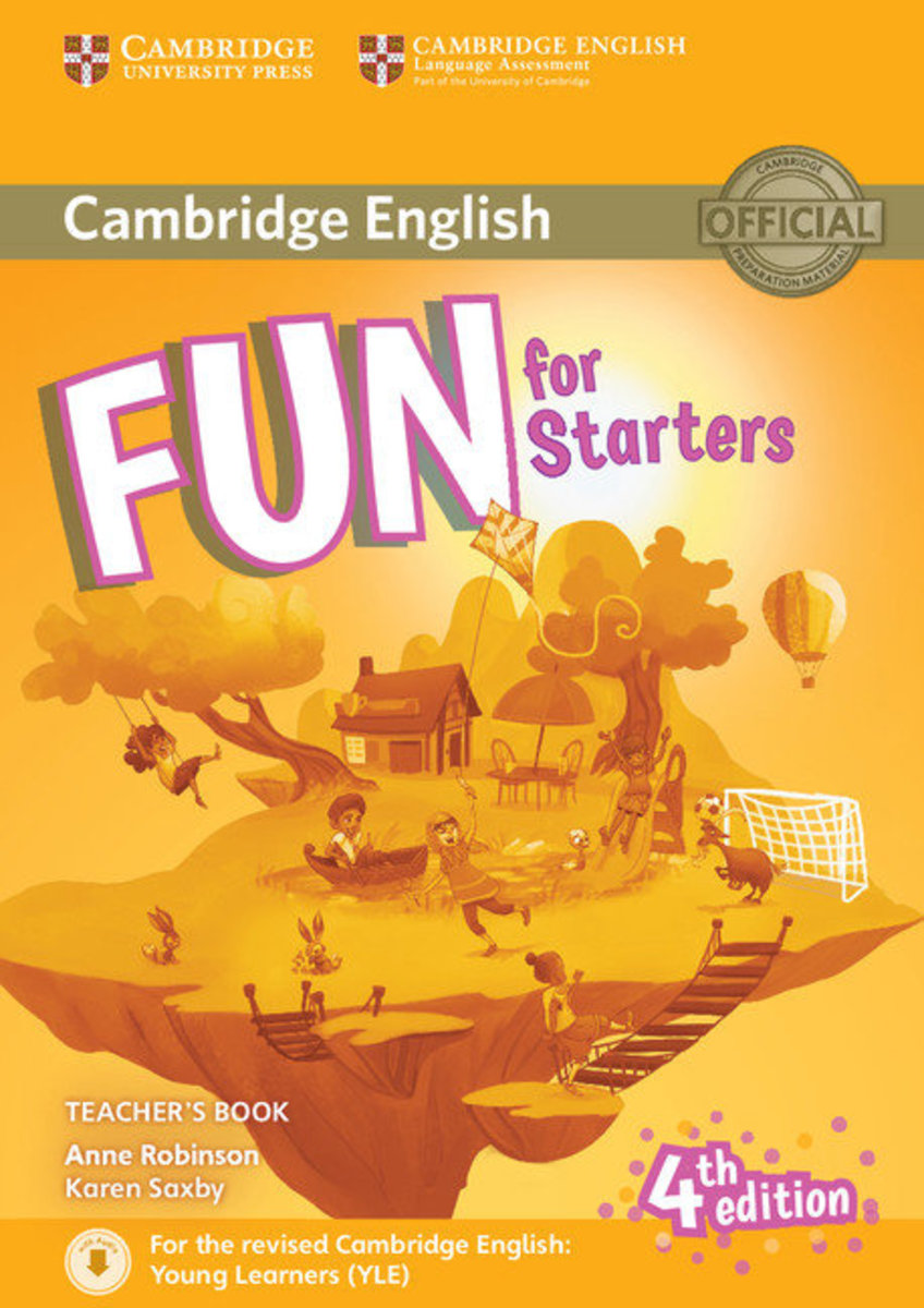 Fun for Starters Fourth edition Teacher's Book with Downloadable Audio