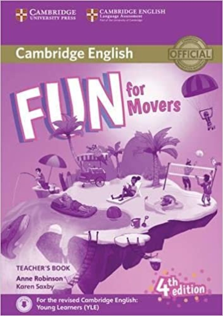 Fun for Movers Fourth edition Teacher's Book with Downloadable Audio
