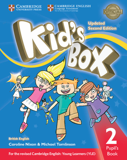 Kid's Box Updated 2/e Level 2 Pupil's Book