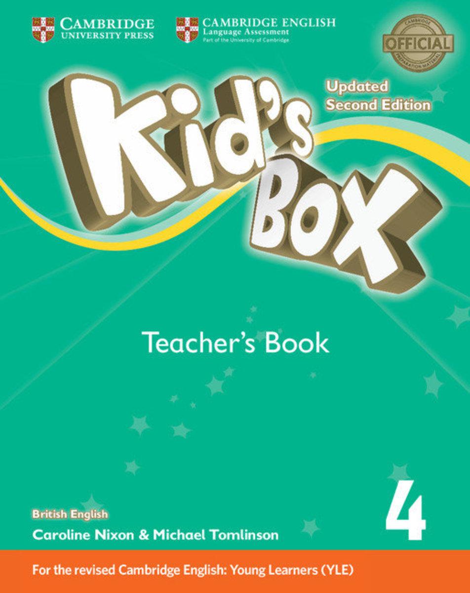 Kid's Box Updated Second edition British English Teacher's Book [ Level 4 ]