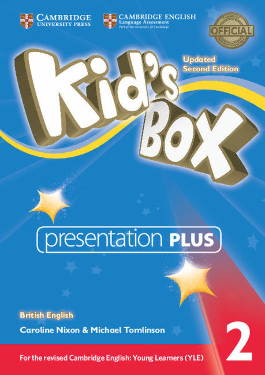 Kid's Box Updated Second edition British English Presentation Plus DVD-ROM [ Level 2 ]