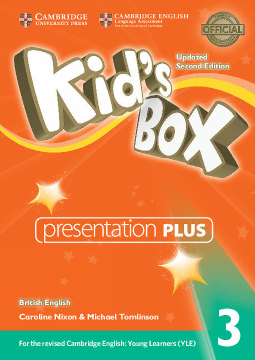 Kid's Box Updated Second edition British English Presentation Plus DVD-ROM [ Level 3 ]