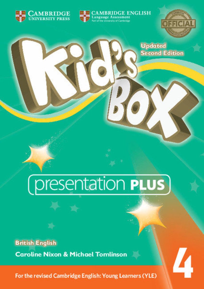 Kid's Box Updated Second edition British English Presentation Plus DVD-ROM [ Level 4 ]
