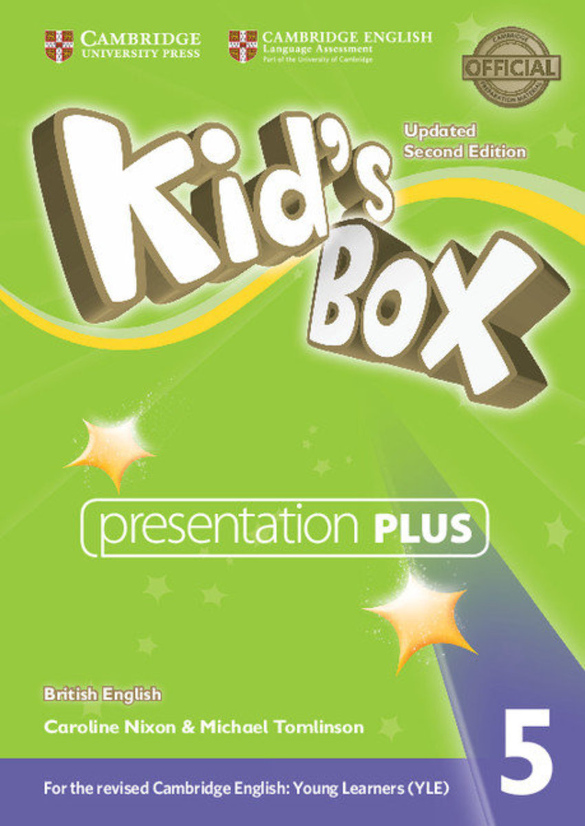 Kid's Box Updated Second edition British English Presentation Plus DVD-ROM [ Level 5 ]