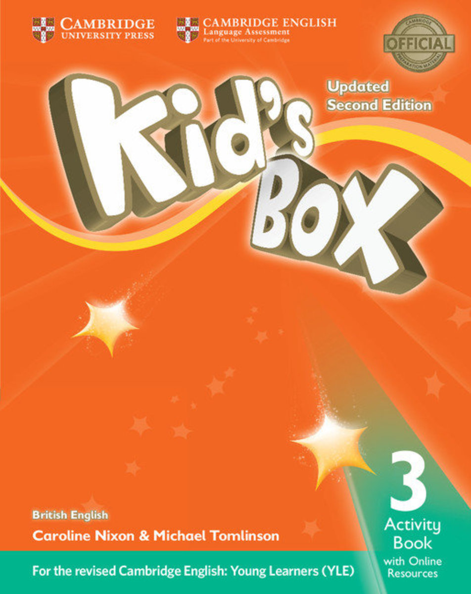 Kid's Box Updated Second edition British English Activity Book with Online Resources [ Level 3 ]