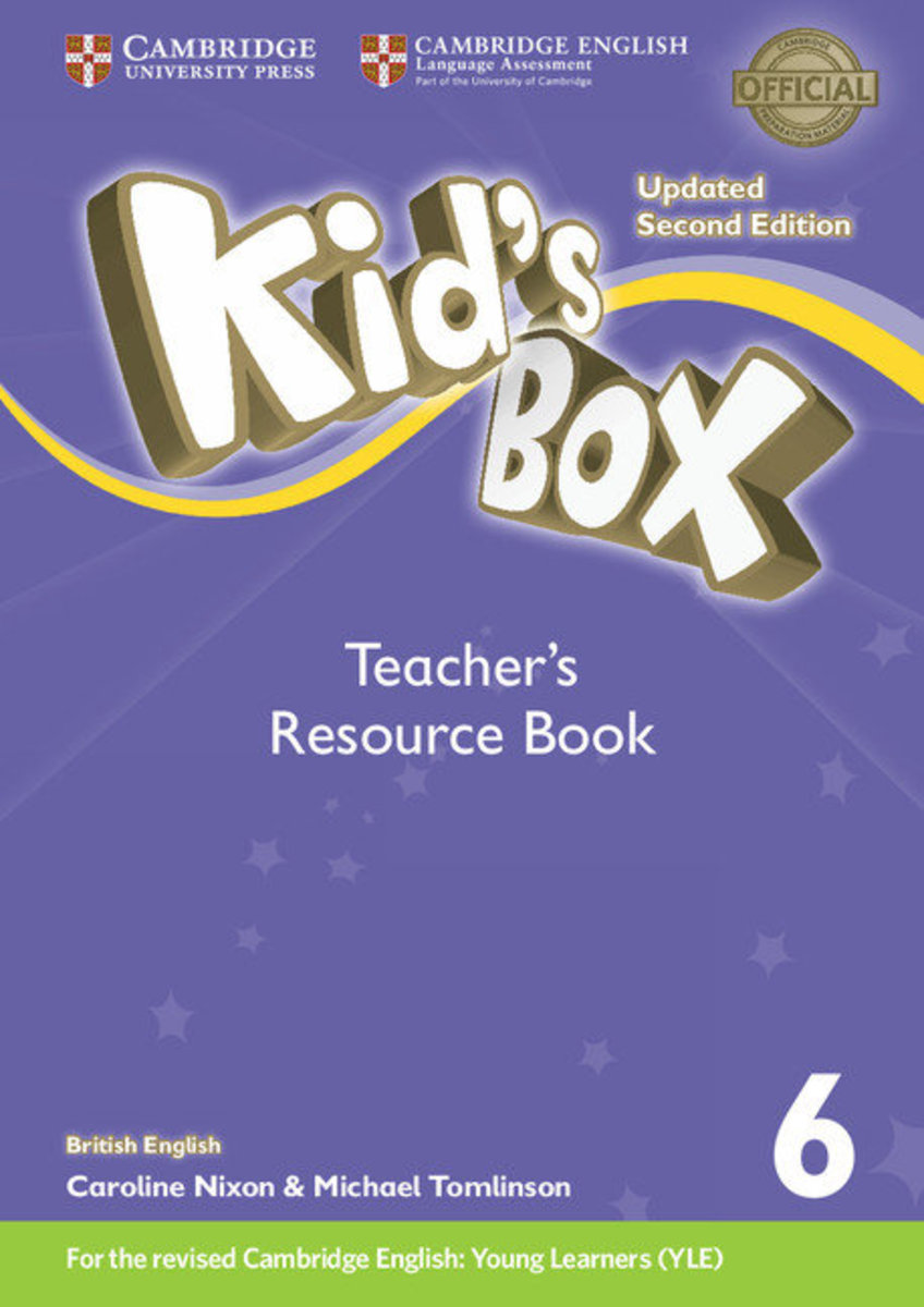 Kid's Box Updated Second edition British English Teacher's Resource Book with Online Audio [ Level 6 ]