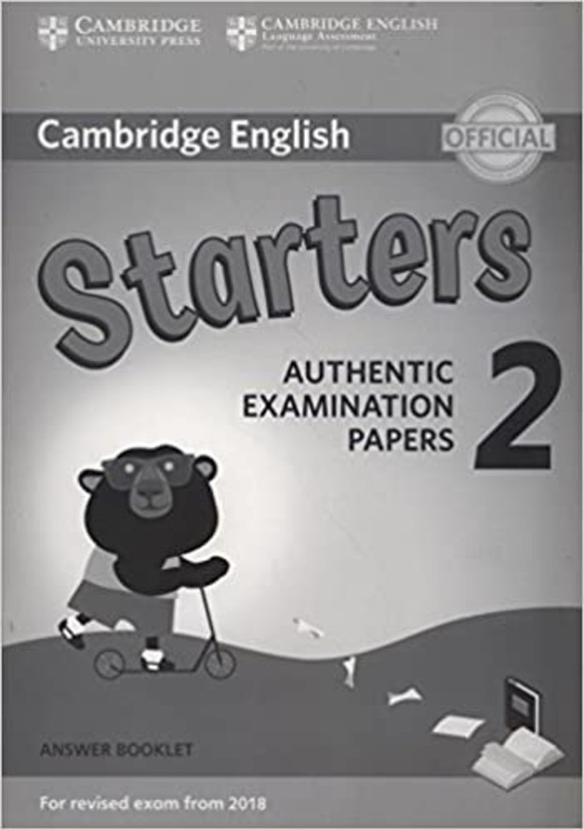 Starters 2 Answer Booklet for Revised Exam from 2018