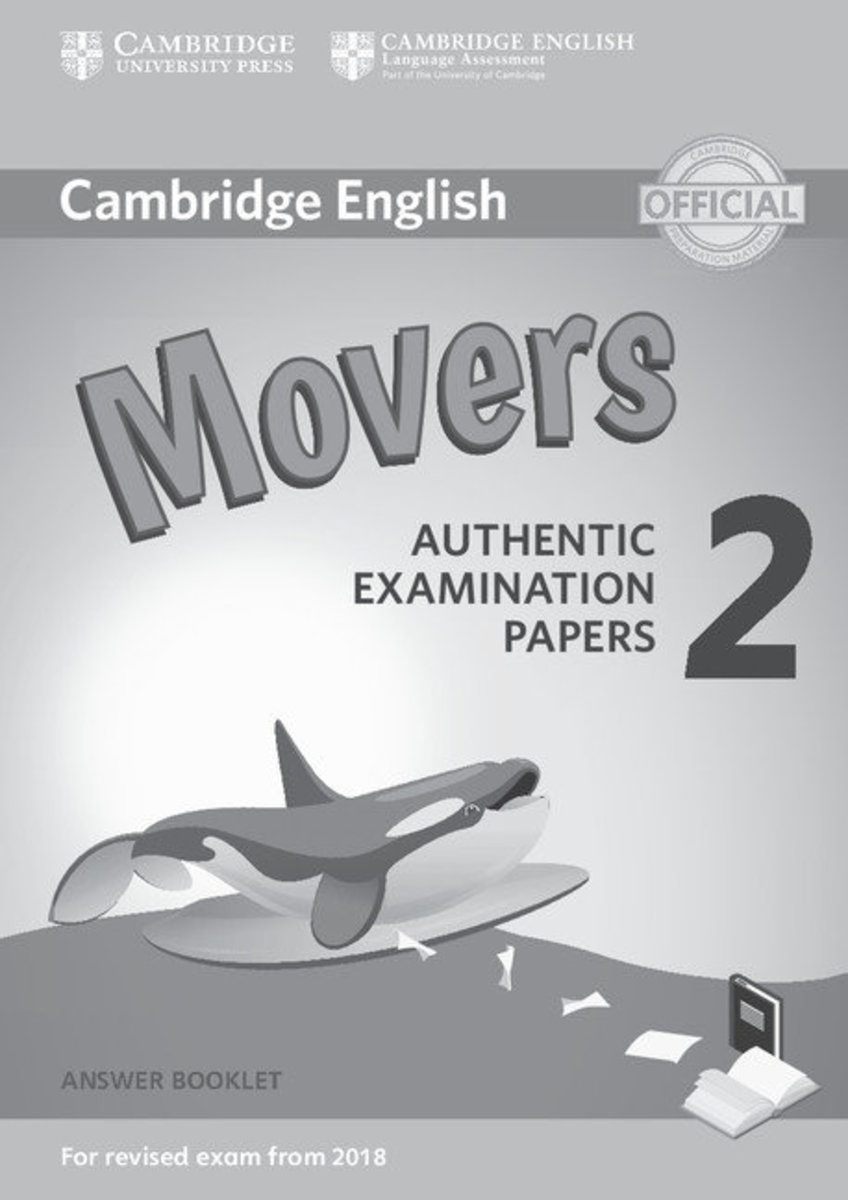 Movers 2 Answer Booklet for Revised Exam from 2018