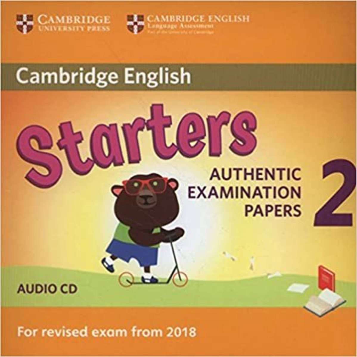 Starters 2 Audio CD for Revised Exam from 2018